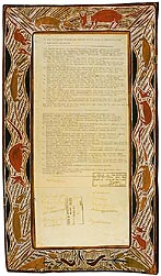 Yirrkala Bark Petition 1963