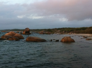 Rocks at Lockhart RiverPhoto: Gerry Pyne