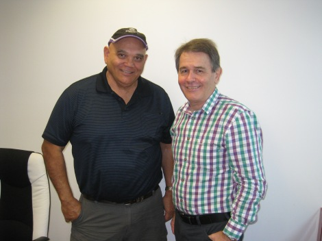 QRAM manager jim Remedio & Hopevale New CEO Ross Higgins