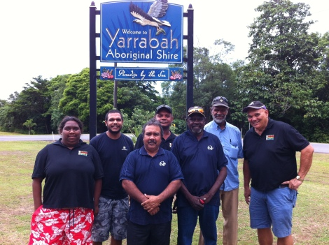 QRAM Board at Yarrabah