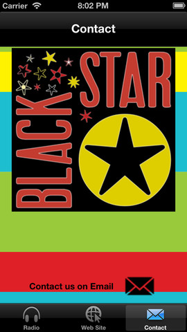 Black Star App in iTunes