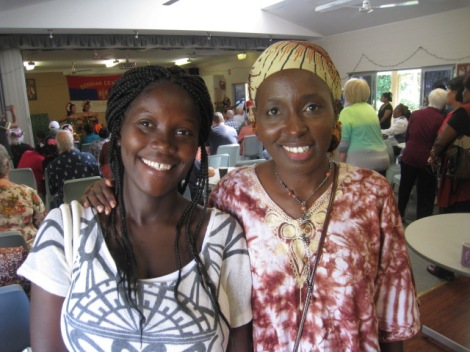 Marcia and Taria from Urganda