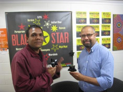 Gilmore Johnson & Billy Gordon Black Stars