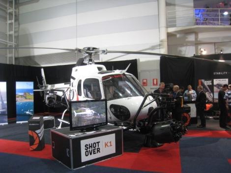 Chopper and cameras