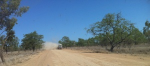 Kowanyama Dust Cloud