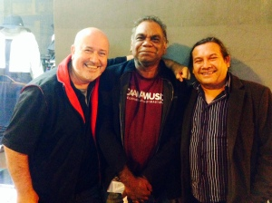 Gerry Lyons CAAMA, Warren H Williams and Steve Pigrim