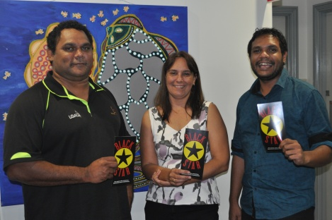 Councilor Mark Wilson, CEO Janelle Menzies, Gilmore Johnston