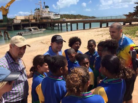 Prime Minister Abbott in Seisia - NPA