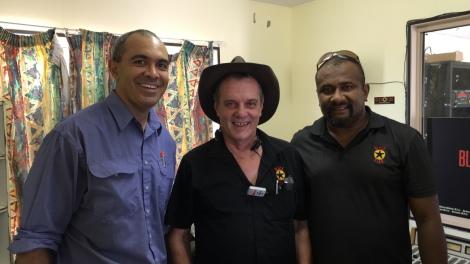 Tom Atu (PMC), Greg and Sai