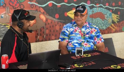 Mayor Derek Walpo interviewed on Black Star Radio